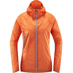 Haglöfs L.I.M Shield Comp Giacca Donna arancione